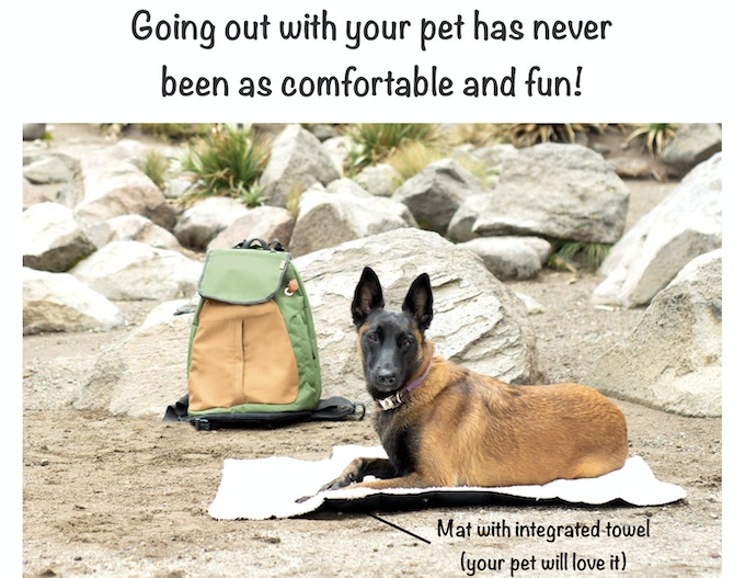 A product that will make your life much easier when traveling with your pet!