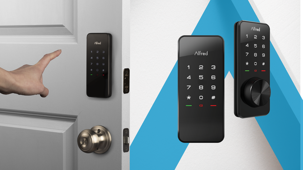 Alfred // A New Smart Touchscreen Deadbolt for homes project video thumbnail
