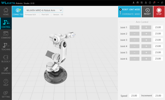 Mirobot, 6-axis Mini Industrial Robot Arm by Mirobot