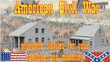 American Civil War printable terrain tabletop and modeling thumbnail