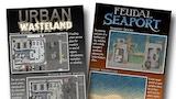 Poster Maps: Urban Wasteland & Feudal Seaport thumbnail