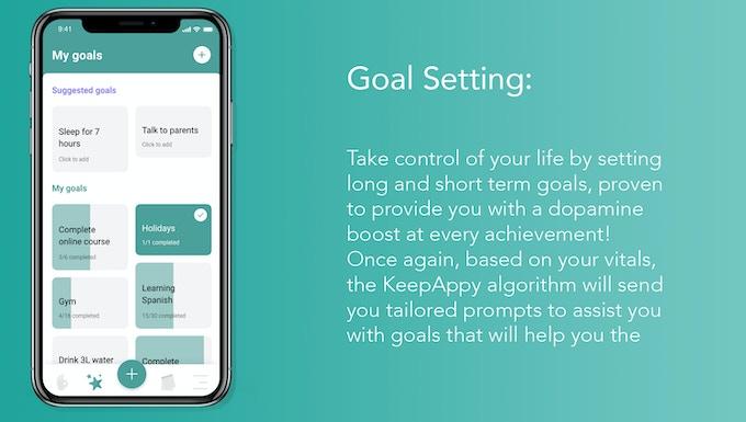 Goal Setting Screen
