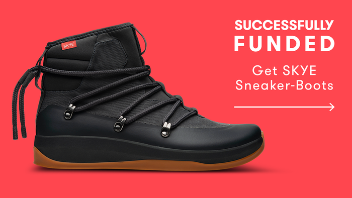 SKYE combines the functionality and durability of boots with the style and comfort of sneakers in two different styles