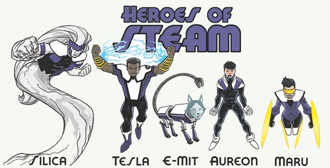 The Heroes of STEAM