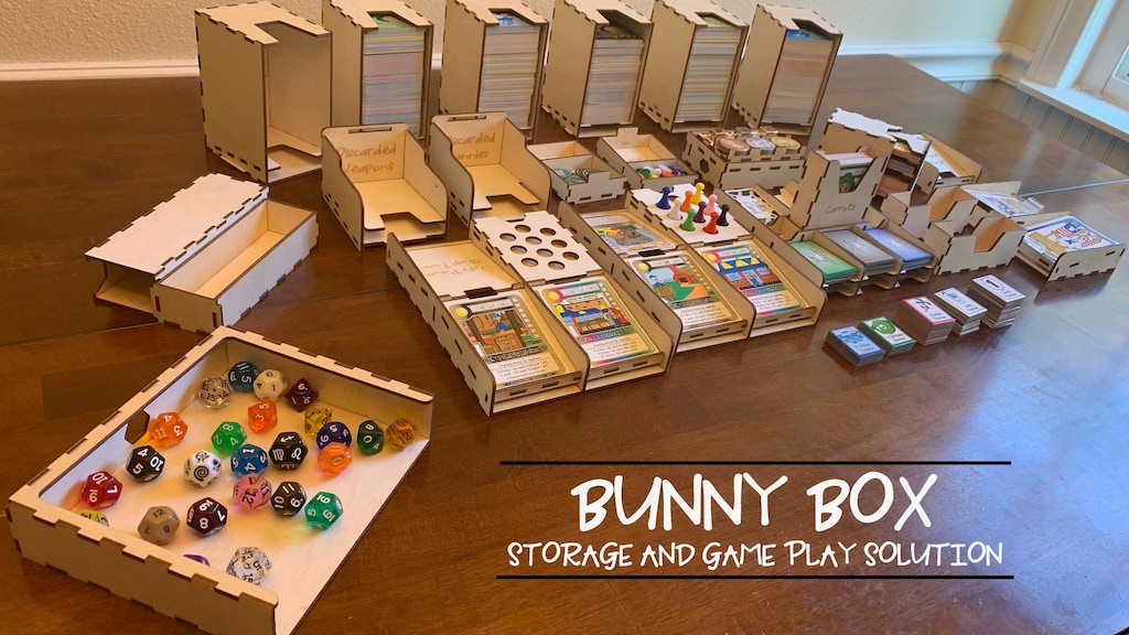 Bunny Box Storage and Game Play Solution project video thumbnail