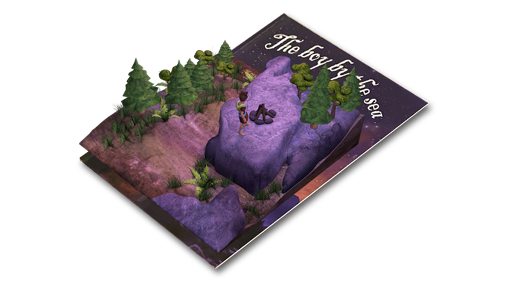 Project image for The Boy by the Sea - An Augmented Reality Children's Book