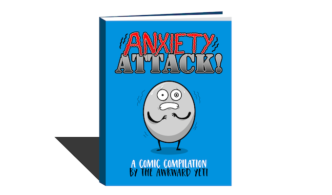 Anxiety Attack: A Comic Compilation by the Awkward Yeti, comes with $50+ reward tiers