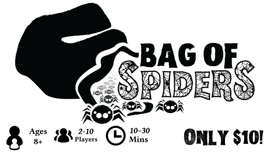 Break Kickstarter: Bag of Spiders, 8+ Games of Spider-y Fun project video thumbnail