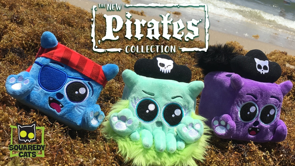 Squaredy Cats AHOY! — Plush Pirates project project video thumbnail