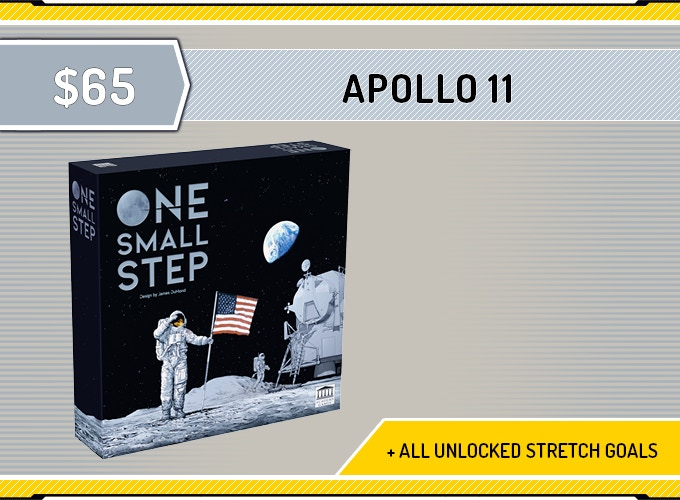 One Small Step + All unlocked Exclusive Stretch Goals.