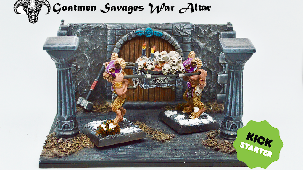Project image for War Altars of the Goatmen Savages