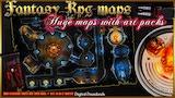 4 RPG Fantasy maps and 4 Art Packs. thumbnail