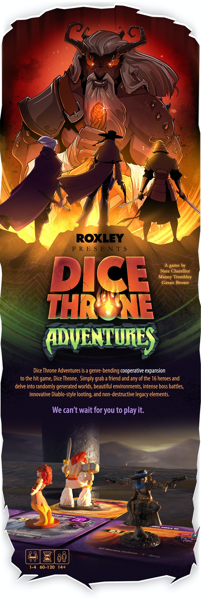 Dice Throne Adventures & Season One: Rerolled! by Dice