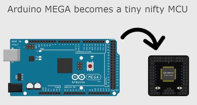 HeroCore: the sexy version of Arduino Mega