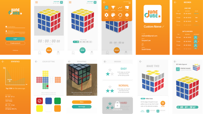 Smart Rubik's Cube with mobile apps by GENIEWOOS — Kickstarter