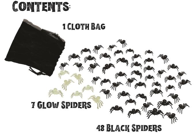 Break Kickstarter: Bag of Spiders, 8+ Games of Spider-y Fun