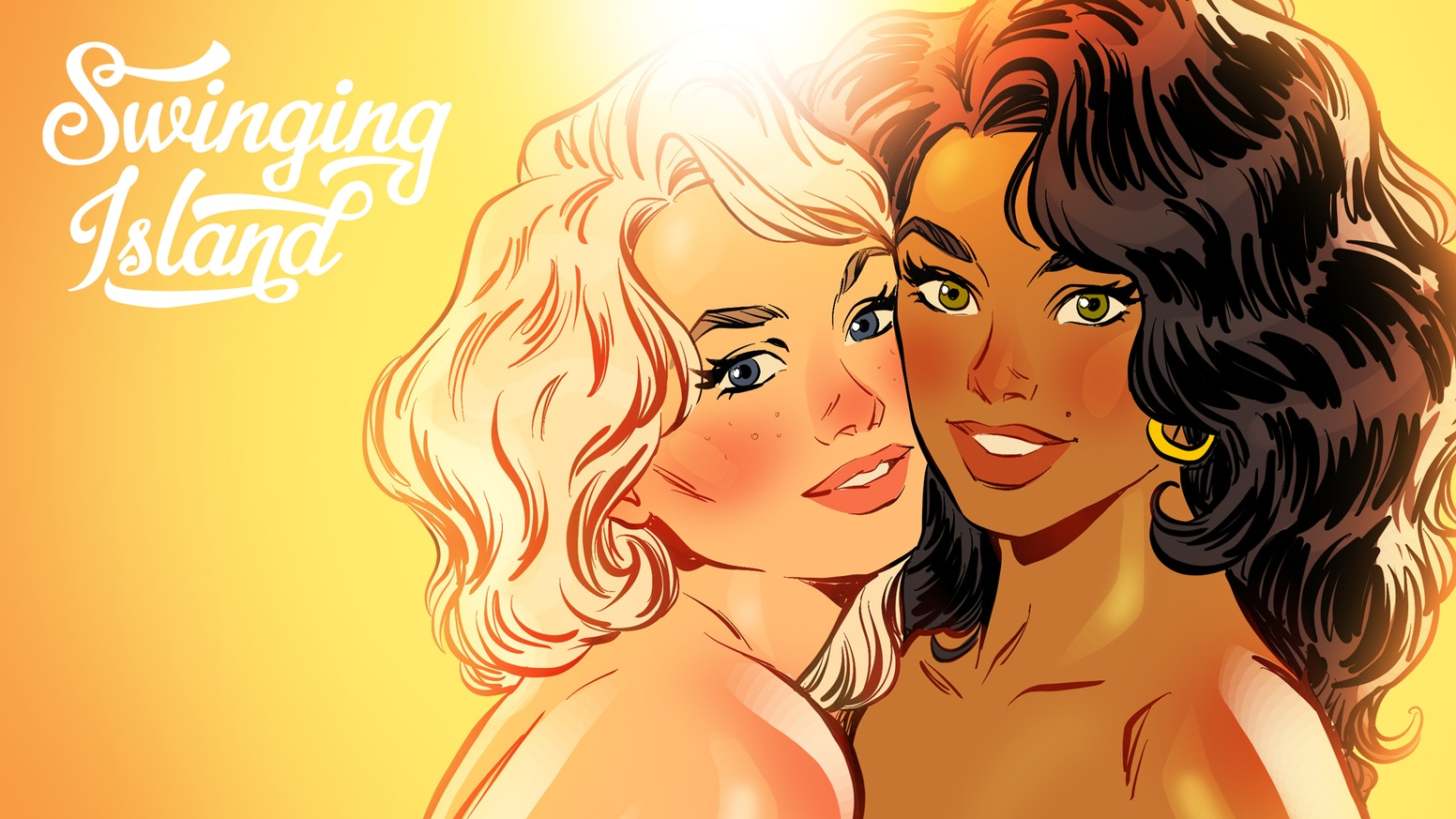 Sex-positive softcover comic book for adults only.