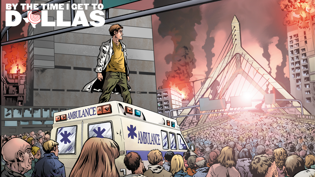 By the Time I Get to Dallas: an ER doc's apocalypse comic project video thumbnail