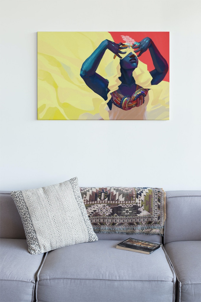 Dreamweaver Canvas Painting Available Now on Swordsfall.com!