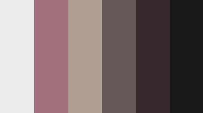 """""""Exposures"""" Scene Color Palette Mock-up"""