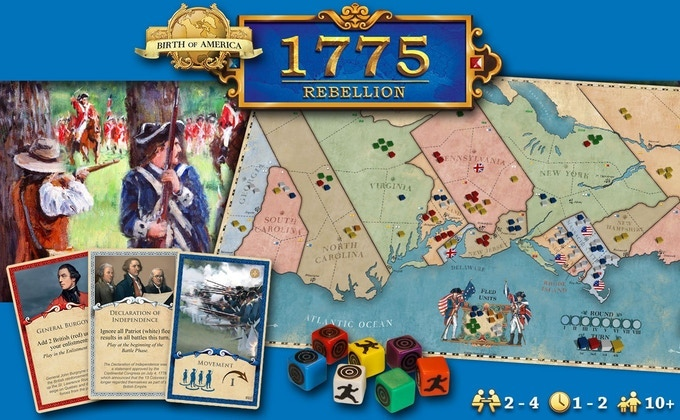Click on the picture for more information about 1775 Rebellion.