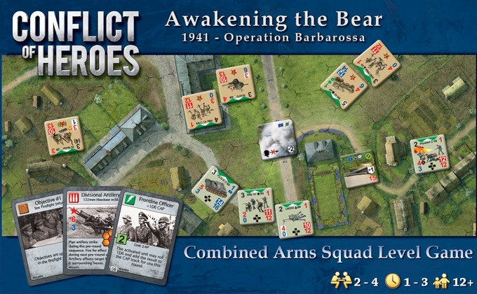 Click on the image for more information about Conflict of Heroes.