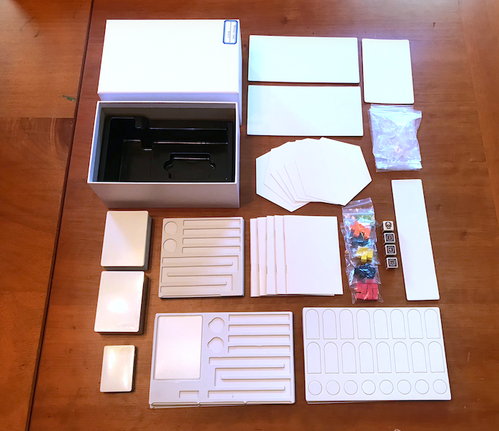 I thought that there was quite a bit in the original box...but this box fits A LOT of STUFF!