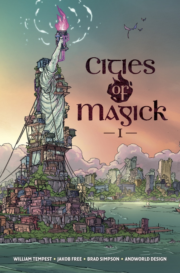 Cover, Cities of Magick #1