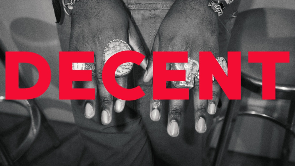 DECENT – new generation men's magazine project video thumbnail