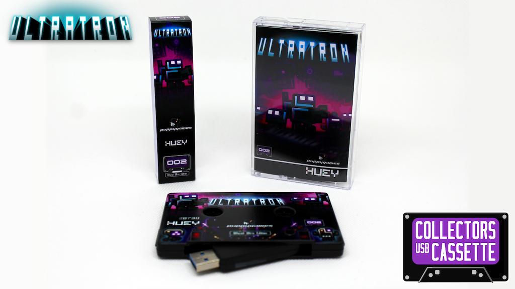 Ultratron - Collectors USB Cassette project video thumbnail
