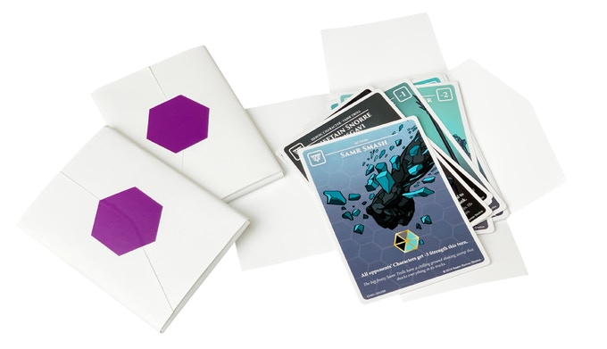10 card booster early packaging prototypes
