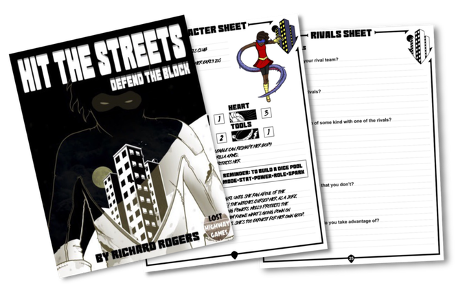 mock-up of cover and printable sheets