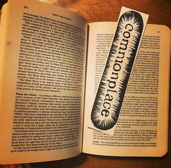 Commonplace bookmark