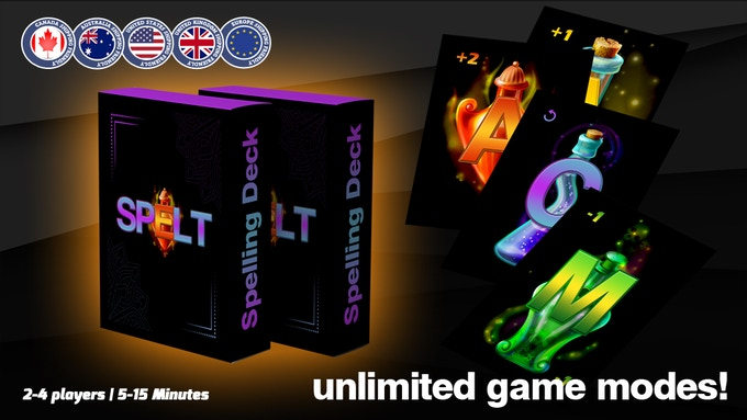 Spelt: Spelling Deck with Unlimited Game Modes!