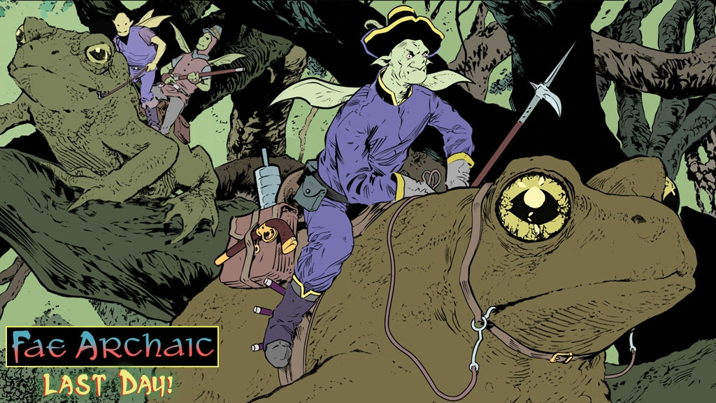 Fae Archaic: A Crime-ridden Fairy Tale REDUX project video thumbnail