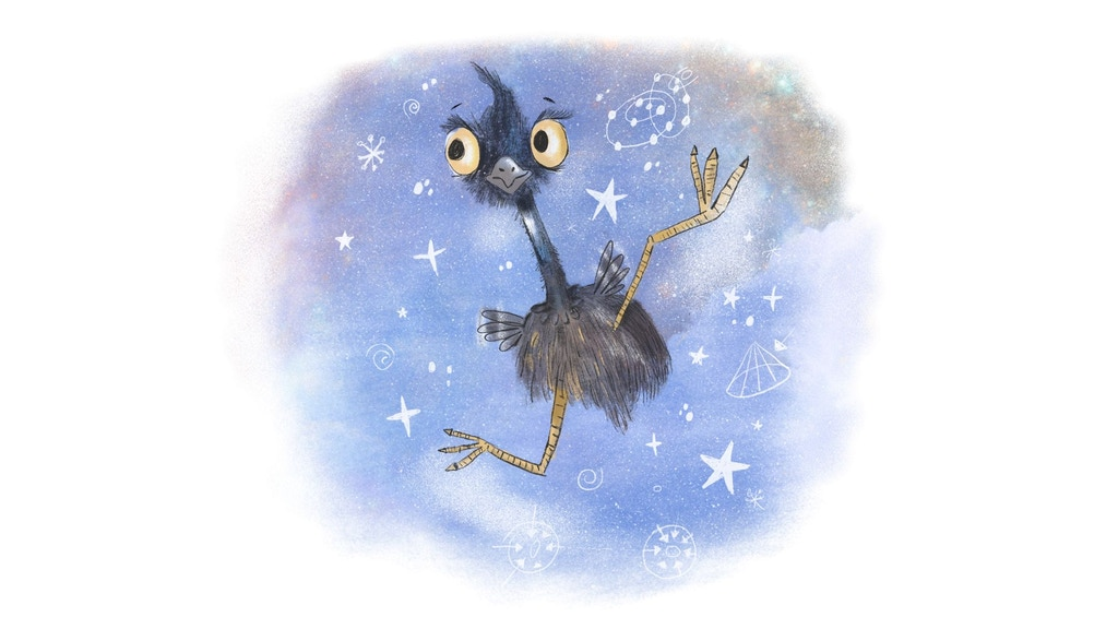 Henry the Flying Emu. A book about wonder and gravity. project video thumbnail