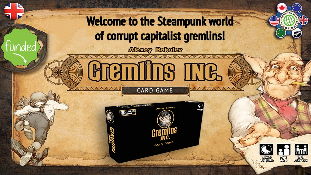"""Gremlins, Inc."" Card Game project video thumbnail"
