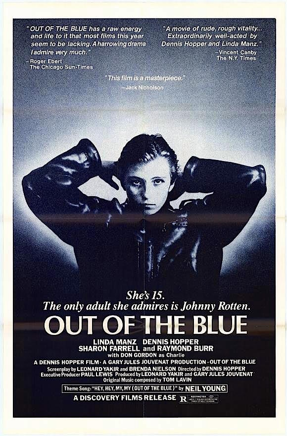 """Out of the Blue"" Original Theatrical Poster"