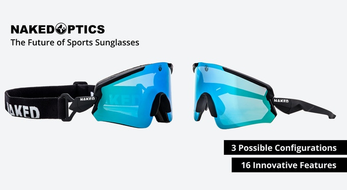 NAKED Optics FALCON: The future of sports sunglasses by