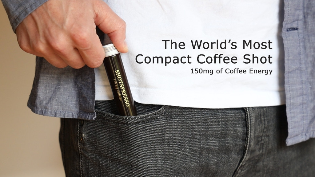 Shotspresso: The World's Most Compact Coffee Shot project video thumbnail