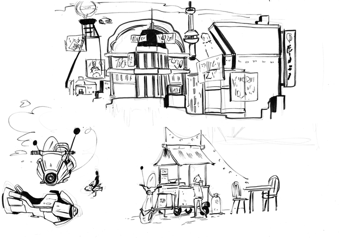 Early Concept Art