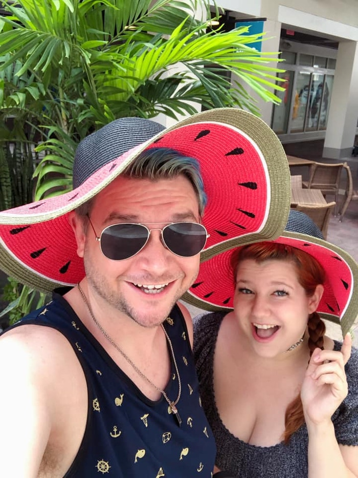Watermelon hats are in!