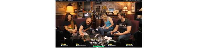 The cast of Dragons And Things playing The Blood Queen's Defiance on Twitch!