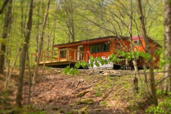 Pledge $275 or more - two nights at Chittenden Brook Hut