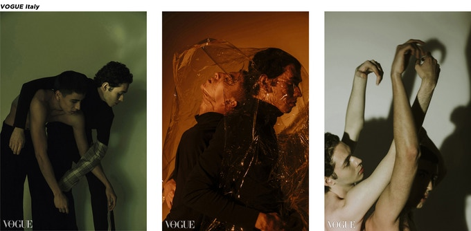 Editorial shooting published on Vogue Italy. Photos by @eyes.of.z @rjiewang