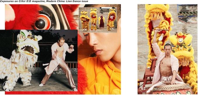 Golden sequins trousers: LYAN PiiiNK! collection.