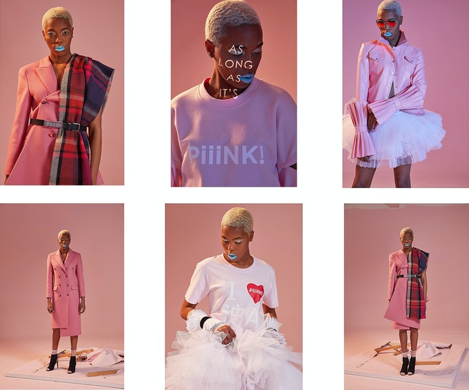 The PiiiNK! Collection look-book, Fall/Winter 2018