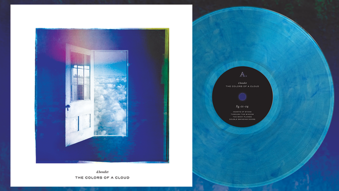 Mock-up of Vinyl and Album Cover