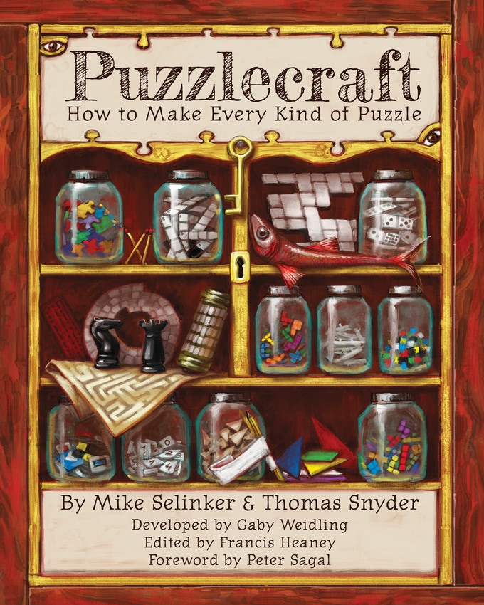 The cover of the brand new edition of Puzzlecraft