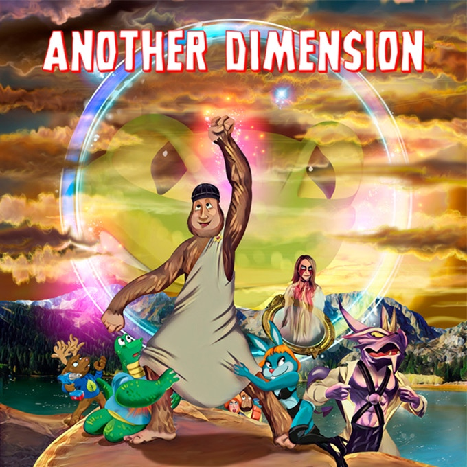 Another Dimension - Issue #2: Bigfoot vs. Kurt Cobain